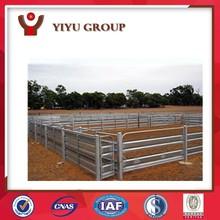 QINGDAO YIYU FACTORY DIRECT ADJUSTABLE Steel tube Corral Fence Panels pens for Livestock oem wholesale