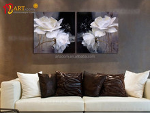 Wholesale flower wall painting famous acrylic painting art
