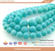 Chinese jewelry amazonite natural wholesale bead gemstone price