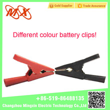 Alligator Clip with boot black & red alligator clip crocodile clip battery clamp/ Gasoline and Diesel Engine Vehicles