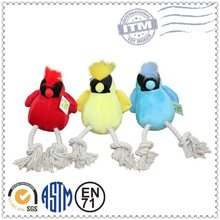 Factory Promotion Custom Made Plush Pet Products cotton rope toy for dog