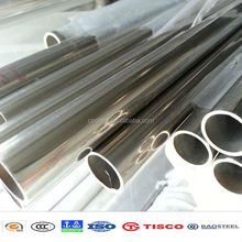 Prime material ss 304 stainless steel pipe price per kg from Wuxi