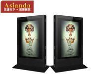 YXD72P-WC Asianda 72 inch Touch advertising machine most popular indoor /outdoor lcd advertising players