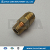 chromeplate brass quick connect hose release coupling hydraulic garden hose coupling female