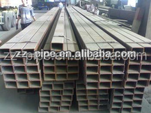 hot dip galvanized rectangular/square pipe for mechanical,construction, steel structure 2014