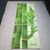 100% Eco Natural Rubber Made Yoga Mats washable yoga mat