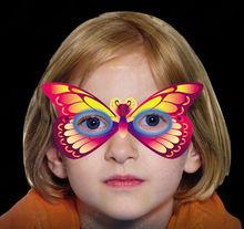 glow butterfly mask