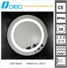 DIBO designer high quality led light shower mirror china wholesale