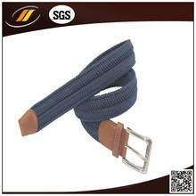 Top Quality Alibaba China Supplier Fashion Elastic Braided Belt For Unisex