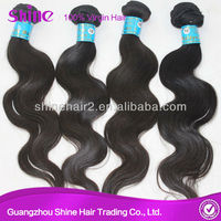 5A Young Girl One donor top quality brazilian virgin hair extension human hair weaving china manufacturers