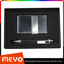 Warehouse Cheap Card Holder and Pen Gift Sets