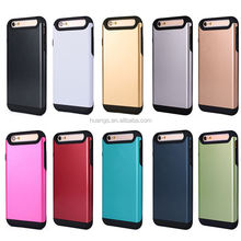2015 new products anti-shock TPU+PC hybrid matte combo for iphone 6 tough armor case alibaba china