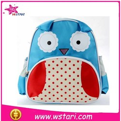 PU leather kids school bag, lovely school backpack for kids