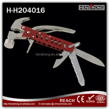 Competitive priced Multi-purpose Anodized Aluminum Handle Safety Hammer