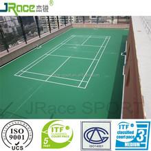 reliable performance rubber badminton court floor