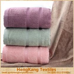 100% cotton custom checkered bath towel