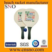 Playa de raquetas de tenis / pelota de tenis playa paddle / de la playa equipo de tenis