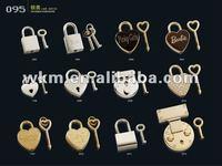 decoration lock and key, heart shape lock