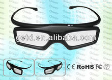 Bluetooth 3D Glasses,RF TV 3D Stereo Viewer,Built-in Rechargeable Battery