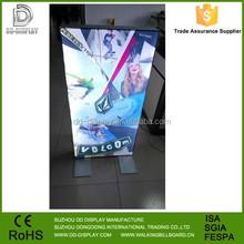 New images led display light frame, fabric light box frame stand,led light box