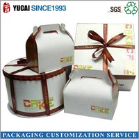 2015 hot sale Birthday cake box packaging