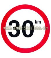 prohibition signal plate,high quality roadway safety traffic,transport dangerous goods