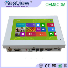 9.7 inch Fanless all in one pc with 4 USB with vesa hole attach for hospital bed