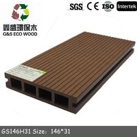 Brand new composite decking vs pvc with great price