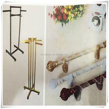 deluxe top coat hanger wood wholesale , garment wood hanger with hanging rod