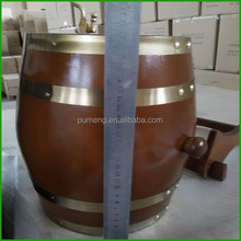 Various Sizes And Colors Oak Wood Wine Beer Bucket Barrel