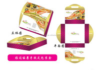 Wholesale pizza packing boxes with customized logo