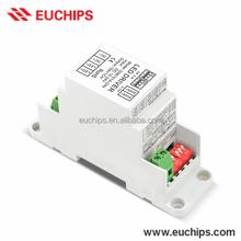 0-10V 1-10V Selectable Dimming Modes DIN Rail LED Dimmer 12V 180W 24V 360W Constant Voltage LED 0/1-10V Dimmer High Quality
