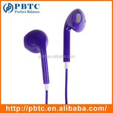 Durable Purple In-ear Earphone