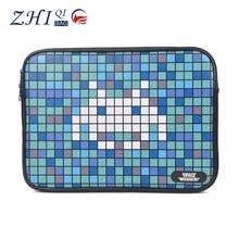 "OEM teens new waterproof leather 15.6"" laptop hard case shell cover case with flannelette for android notebook"