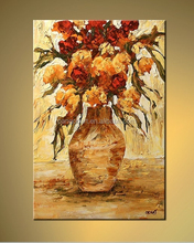 Fashion product 2015 modern flower Oil Painting For Bedroom