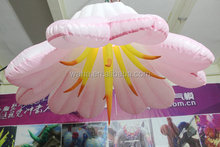 2015 hot sell giant inflatable flower decoration/decoration flower