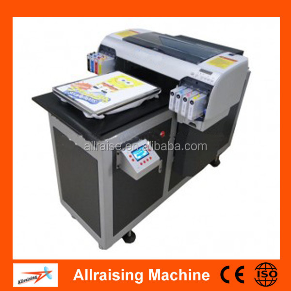 Automatic garment printing machine a2 size uv t shirt for T shirt printing price list
