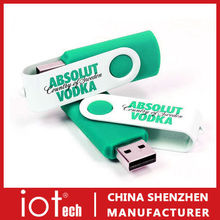 High Quality Promotional Gifts Fast Delivery Swivel Flash Drive USB
