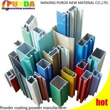 Tubo de aluminio de pintura en polvo Buliding materiales