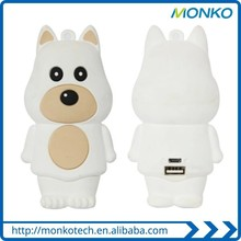 Dog Of The Chinese Animal Zodiac Cartoon 5200 mAh USB Mobile Charger Power Bank for Gift
