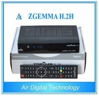 Original combo satellite & terrestrial/cable tv receiver dvb-s2 dvb t2/c satellite receiver with dual core cpu ZGEMMA H.2H