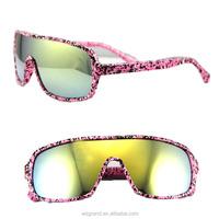2015 fashion sports custom plastic sunglasses Wholesale cheap
