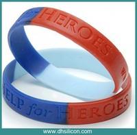 Permanent using silicone bracelet strap