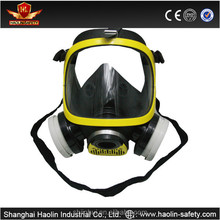 Double filter nature silicone spray painting respirator mask with CE certified