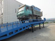 rampa de carga de camiones