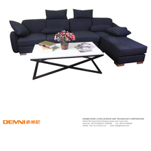 Cheap l chaped sofa sets for living room furniture and high quality new design luxury sofa
