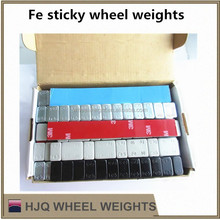 Fe adhesive wheel balancing weights