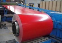 1250 mm 1219 mm pré pintado zincalu de zinco bobinas de aço