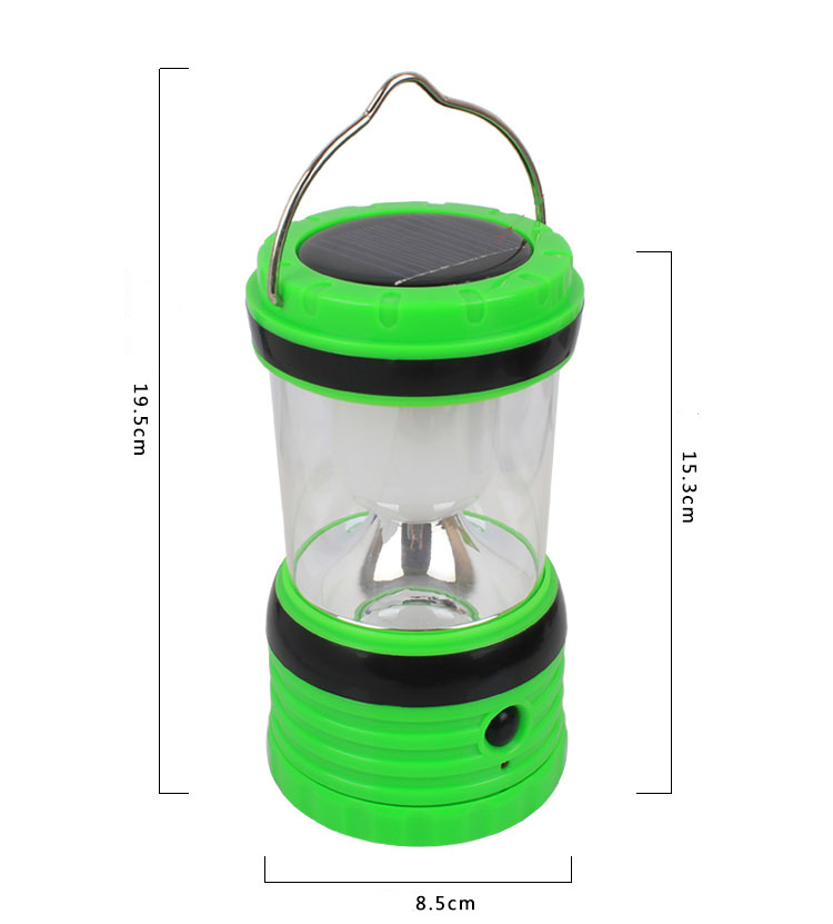 Goread GY30-1 rechargeable camping lantern AA battery USB power bank High bright soft lens solar led lantern lantern led