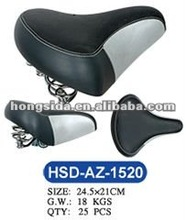 LEATHER COVER BIKE SEAT